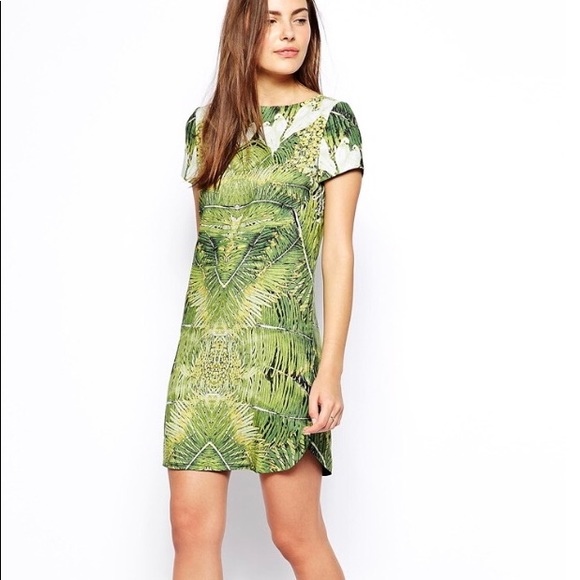 38c6e961f Ted Baker Dondri Shift Dress Tropical Dove Print